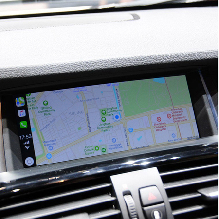 BMW 2014  X3 Series CarPlay SmartBox Installation – German