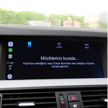 BMW 2014  5 Series CarPlay SmartBox Installation –Turkish