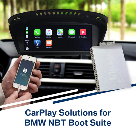 BMW 2014  5 Series CarPlay SmartBox Installation –Italian